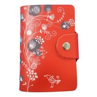 Wholesale 13 Color High Quality Genuine Leather Credit Name Card Holder Real Cowhide Leather Card Case Card slots ak120