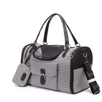 Mochila para perros llevar bolsa de tres diseño de moda luxery pet viajes portadores bolsa para perro pequeño gato bolsa