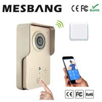 Wholesale Villa House Shop Metal Waterproof Wifi Wireless Video Doorbell Intercom Door Camera