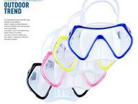 Wholesale Professional Diving Mask Anti Fog Anti Wear UV Waterproof Swimming Glasses For Men Women Silicone Gear Dive Glasses Equipment