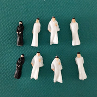 architectural scale figures - 100pcs Architectural scale model arab figures scale painted arabic figures for building layout