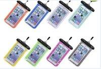 Promoción Claro bolsa impermeable del bolso de la cubierta del caso para el teléfono celular en seco iPhone5 Samsung s3 Envío libre caliente vendiendo 2016