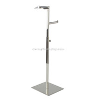 Wholesale metal hook display stands handbag holder stand metal fittings for handbags handbag hanger stand bag holder