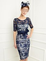 Wholesale In Stock lACE Prom Dresses Cocktail Party Dresses Charming Evening gowns Special Occasion Dresses High Quality celebrity dresses
