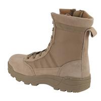 adults rubber boots - New adult desert boots tactical boots High male money helper desert boots manufacturer