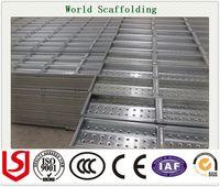 Wholesale Construction Metal Scaffolding Steel Plank Q235 High Grade Metal Scaffolding metal Plank