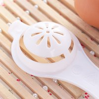 Wholesale 10pcs PP Eco Friendly good quality egg yolk white separator egg divider useful household tools