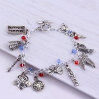 agate cheap - Freeshipping Doctor Who charm Bracelet Bohemia Style Charming Bracelet Cheap bracelet friendship High Quality bracelet cord