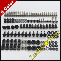 Wholesale 100 For HONDA CBR600RR CBR600 CBR RR F5 Body Fairing Bolt Screw Fastener Fixation Kit