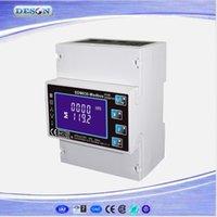 Wholesale SDM630 Modbus DIN Rail RS485 Energy Meter Three Phase Smart Energy Meter LCD Intelligent Multimeter V