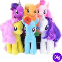 baby girl teddy - 18CM Colors Fresh Plush Unicorn Horse Stuffed Animals Toys Baby Infant Girls Toys Birthday Gift Rainbow Dash