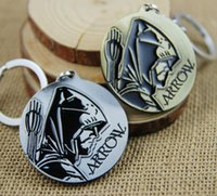 arrow series movie - Movie Series Key Chain Arrow Keyring Keychain for Keys Chaveiro Llavero Key Ring Key Holder