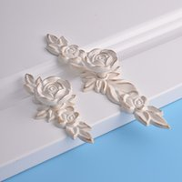 antique white drawer pulls - shipping free white flower color zinc furniture hardware antique france style wardrobe drawer cabinet cupboard pull handle