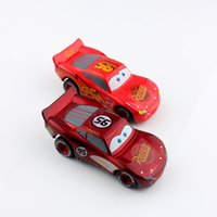 Wholesale 2pcs set tomica Mcqueen pixar kids cars toys race car metal scale die cast Vehicles diecast figure models toys action figure for children