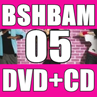 Wholesale In Stock New Routine SH Aerobic exercise Dance BAM SH05 BAM05 Video DVD Music CD Without BOX