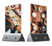 advertising product - New products Advertisement Battry Pack Charger Mobile Standle Holder USB restaurant coffee power bank advertising menu mah power bank