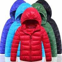 Wholesale 2016 Fashion Boys Clothes Children Outwear Thicken Kids Baby Boy Winter Jacket Hooded Cotton Padded Solid Long Sleeve Coat for Boys Parkas