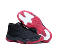 Wholesale Men Future Retro Men s Sports Basketball Shoes Black Black Infrared High Quality Hot Sale Discount