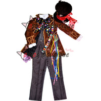 alice hats - Alice in Wonderland Mad Hatter Cosplay Costume Adult Johnny Depp Costumes Party Cosplay Costumes Men with hat