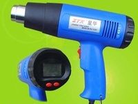 Wholesale 220V1800WZTX handheld temperature hot air gun with adjustable LCD digital display high performance professional industrial heat gun tool