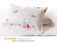 Wholesale pack of brand twill cotton standard Pillow Case spring lady pillowcases