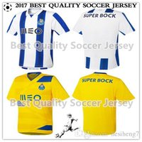 Wholesale FC Porto jersey Best Quality soccer shirts blue white yellow black TELLO camiseta de foot fC custom shirt