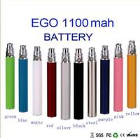 Wholesale eGo t battery eGo mah mah mah mah batteries electronic cigarettes thread for CE3 CE4 atomizer MT3 protank H2