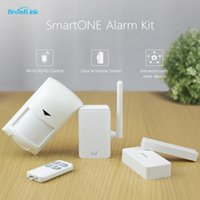 Wholesale New Broadlink S1 S1C Alone Sensor SmartONE alarm Smart Home Automation Sensor Contorls in Sensors Connected By IOS and Android Smart home