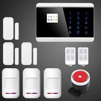 android wireless sensor network - Android IOS APP Mhz Sensor Dual network Wireless GSM PSTN Home Intruder Alarm System APP Wireless Sensors Kit G P642