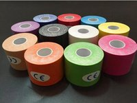 Wholesale New hot Roll Kinesiology Muscle Tape Sports Athletic Elastic Physio Therapeutic cmX5m IN
