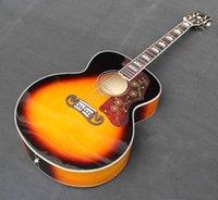 Wholesale 2016 recién llegado de Jumbo quot Acoustic guitar en tiendas puede hacer insignia como su petición