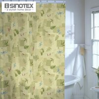 bath room curtains - Botanical Retreat Fabric Shower Curtain cm Polyester Bath Curtain For Bathroom Living Room Leaf Patern