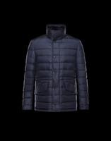 Wholesale Newest Famous Brand Men Winter Down Jackets Warm men Down short Trench Overcoat color Sizes XS XXL