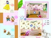 Wholesale Cartoon wallpaper Personality customization wallpaper No stitching wallpaper
