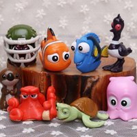 Wholesale In Stock Pixar Finding Nemo Dory Figures Toys PVC Action Figure Toys cm Nemo Dolls Kids Gifts WX T48