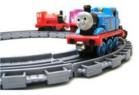 Wholesale original set stock Thomx train tracks children toys cheap worth Thomx n his friends kids toys boy gift border flaws train