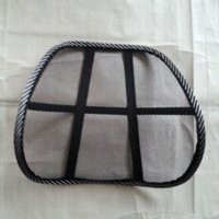 Wholesale Black Cool Mesh breathable massage Seat Back Support Car Covers Seat Chair Massage Back Lumbar Support Car Seat Cover