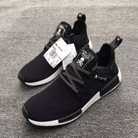 Wholesale 1 orignal brand men man sports shoes Adult And Children NMD XR1 determind Camo boost Runing Shoes with orignal bag riceipt