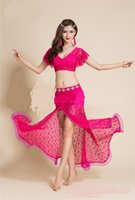 Wholesale Belly Dance clothing suits and diamond belt and four colors optional Four seasons can be worn
