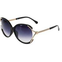 Wholesale 2016 New Arrival Eyewear Steampunk Sunglasses Women Cat Eye Sun Glasses Fishing Oculos De Sol Feminino UV400 Gafas For Ladies