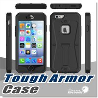 absorbent layer - For iPhone s Case Samsung Note5 Case Tough Armor Defender with Kickstand Layer Rugged Rubber Shock Absorbent Dust Proof Cover