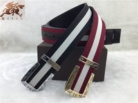 advance knitting - G brand new advanced G buckle carved head weaving new color bar bottom nubuck leather belt Ms common men