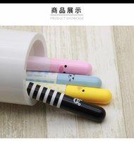 Wholesale Cute Smiling Face Pill Pen Pencils Telescopic for School Office Supplies Mini pills retractable pen