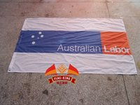 australian activities - australian labor Party LOGO brand flag labor Activity Decoration banner flag king polyster
