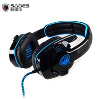 best surround headset - Best Gaming Headphones Computer Gamer Earphones With Microphone Surround Stereo Deep Bass Headset For PC fones de ouvido