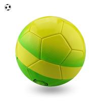balls bladder - Fun Soccer Foam Ball Qualifiers Ball Balones de futbol Footballs Match Seamless Soccer Ball Size foam Bladder