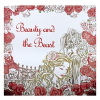 beauty coloring pages - Beauty and the beast Coloring Book For Children Adult Relieve Stress Kill Time Graffiti Painting Drawing Book pages