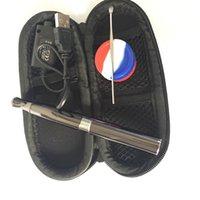Skillet V2 Vaporisateur Kit Puffco pro Double Quartz Rod Chambre en céramique Donut Coil Wax Dry atomiseur herbe dry herbal vapor kandy stylo