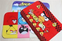 Wholesale Fashion Lovely Cartoon Angry Birds rugs and carpet Door mat for kinds home living room or bedroom absorbent non slip bath mats