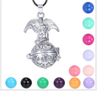 ball and chain heart necklace - Europe and the United States women prenatal education sound ball pendant Can open the religious sautoir Long necklace sweater chain